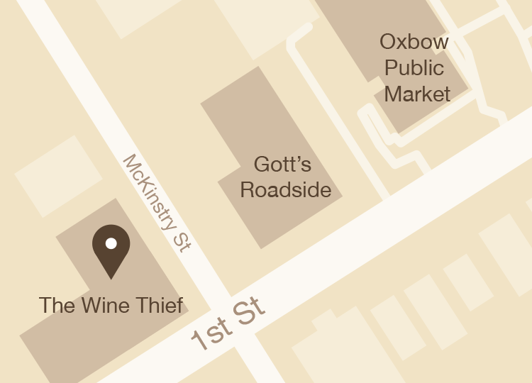 Wine Thief Map